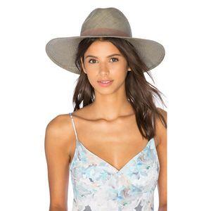 Janessa Leone Angelica Wide Brimmed Panama Hat